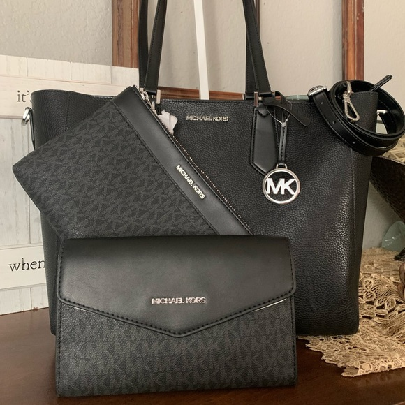 New 3in1 MK Kimberly large tote 🖤